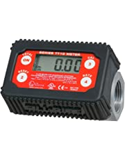 "Fill-Rite TT10AN 1"" 2-35 GPM(8-132 LPM) Digital in-line Turbine Meter, Aluminum, Fuel Transfer Meter"