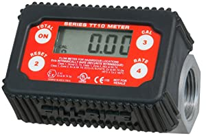 Fill-Rite TT10AN 2-35 GPM Inline Digital Turbine Fuel Meter