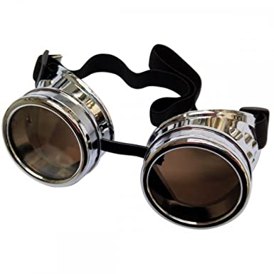 Welding Cyber goggles de soleil des Lunettes de Soudage Steampunk Antique Copper ONE EYED EYE (One Eyed Copper) SghA3a9