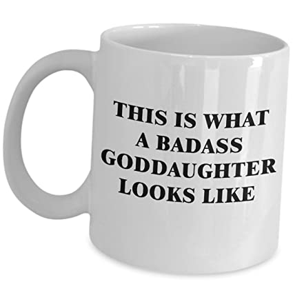 Amazon.com: Goddaughter Gifts From Godparents - What Badass ...