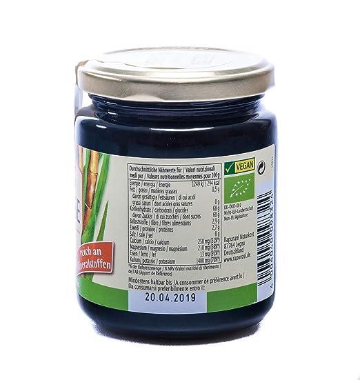 Amazon.com : Rapunzel Zuckerrohr-Melasse, 2er Pack (2 x 300 g) - Bio : Grocery & Gourmet Food