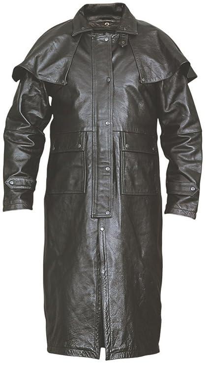 Amazon.com  Men s AL2600 Leather Duster 4X-Large Black  Automotive 5fc7d5637dbc