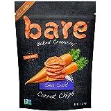 Bare Gluten Free Baked Crunchy Carrot Chips, Sea Salt, 8 Count