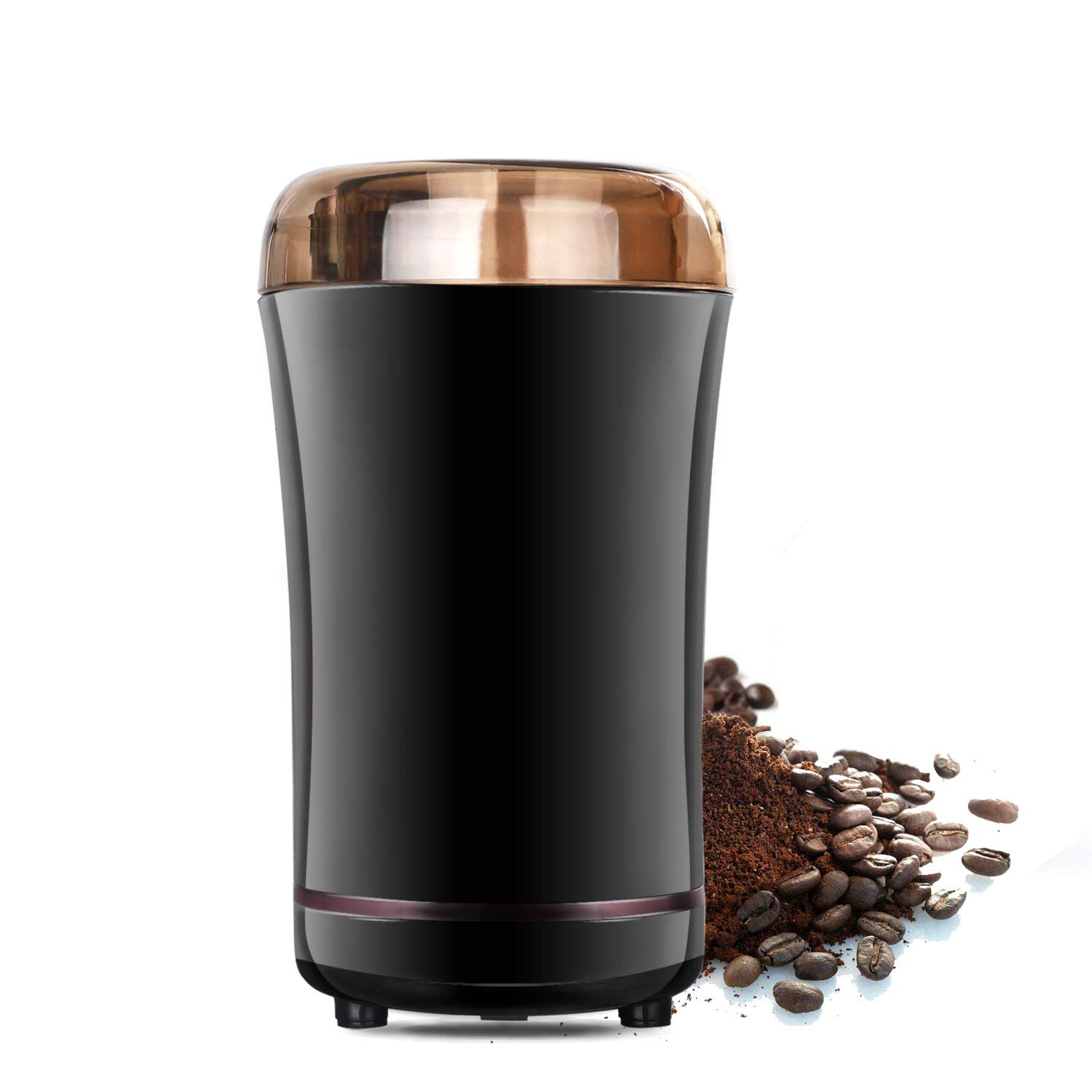 Coffee Grinder, Travelnote Electric Coffee Bean Grinder with Stainless Steel Blades for Coffee Beans Spice Nuts Grain, Up to 12Cups
