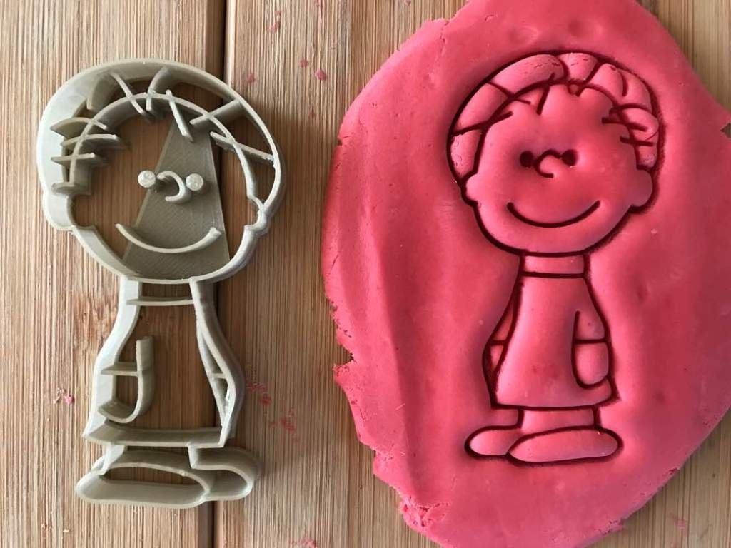 8/cm. ca logo di PLA biologico Stampino per biscotti a forma di personaggio di Peanuts