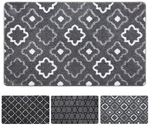 DEXI Original Indoor Doormat, Durable Absorbent Door Mats Indoor Rug, 59×36 Machine Washable Low-Profile Inside Door Mat for Entryway