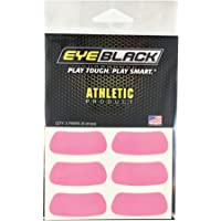EyeBlack Football Baseball Softball Eye Black Strips, Pink