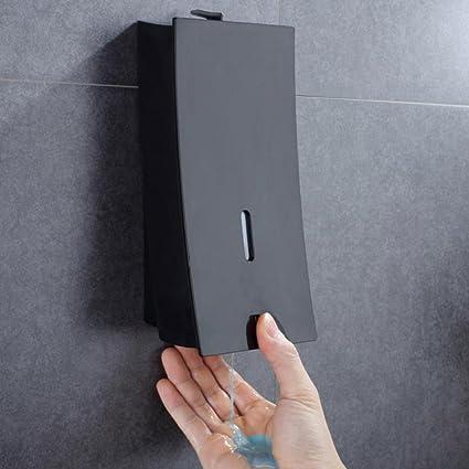 Soap dispenser Dispensador Jabón 450ml Montaje En Pared Champú Ducha Gel Contenedor Lavabo Accesorios Negro