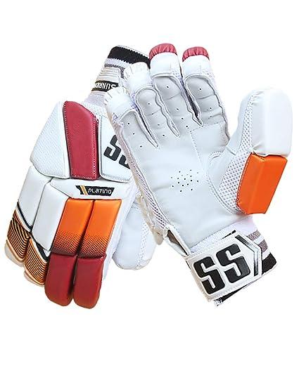 071d7ce4b13 SS Cricket Platino Premium Cricket Batting Gloves  Men s 2019 Edition  (Right ...