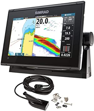Simrad GO9 XSE Chartplotter/Fishfinder w/Medium/High DownScan ...