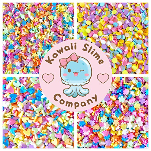 Kawaii Slime Company Pastel Sprinkle Kit for Slime - Fake