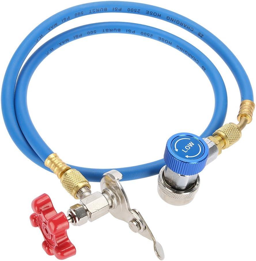 KIMISS R134a Tubo di ricarica per refrigerante Gas pu/ò montaggio Tubo pu/ò toccare per R502 R-12 refrigerante R-22