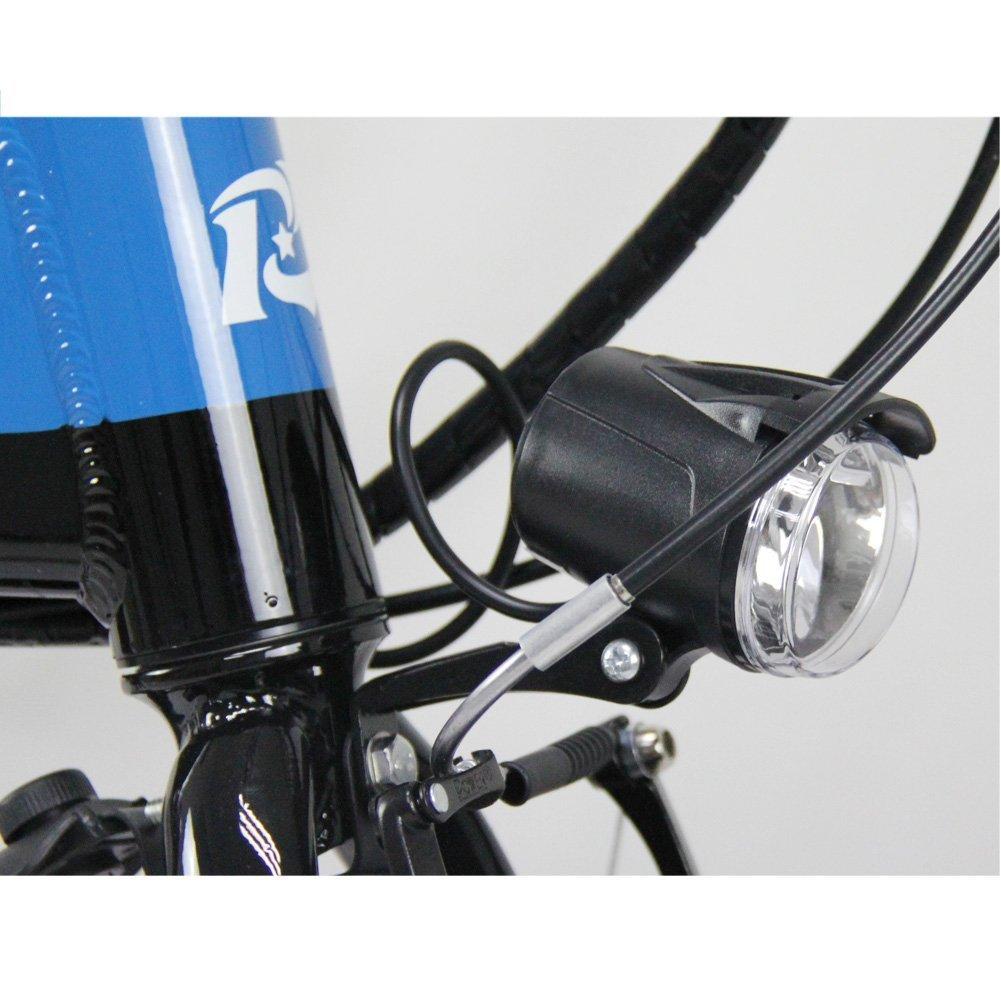 Rico Bit® RT 618 bicicleta eléctrica para bicicleta plegable bicicleta Ciclismo 250 W * 36 V 8 Ah LG recargable, ruedas de 14