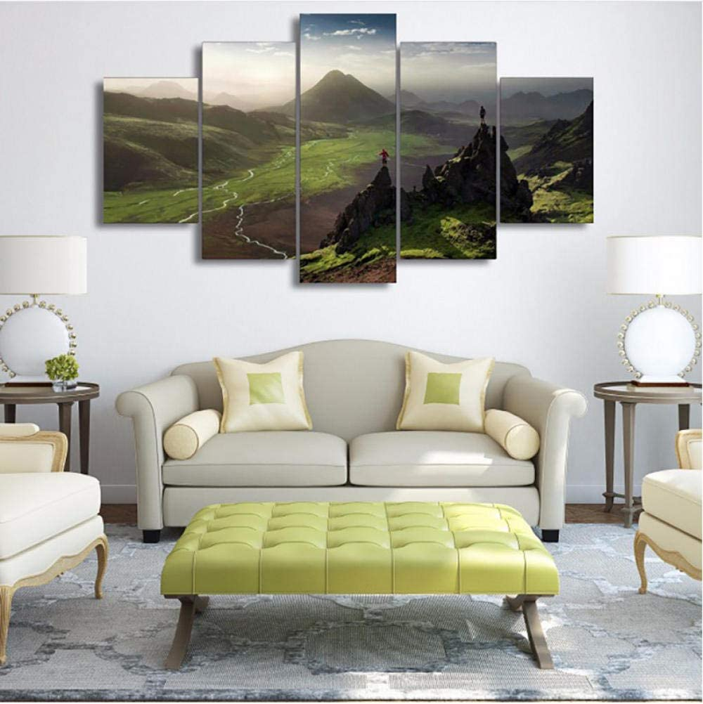 nvhaishiwo Abstracta Marco Living Room HD Impreso Pintura 5 ...