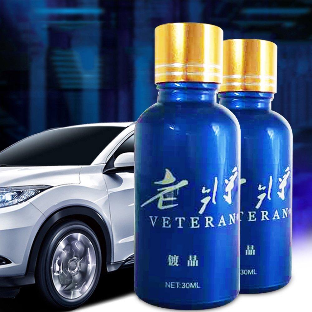 Revêtement de peinture de voiture d'étanchéité Plaqué Ensemble de protection 30ml Dégraissant Agent + 30ml Mastic liquide (total 2pcs) kaersishop