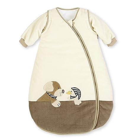 Sterntaler terciopelo bebé saco de dormir con mangas Hanno Edda/el Perro 90 cm