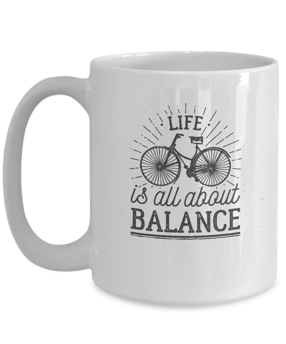 Life Is All About Balance Coffee Mug