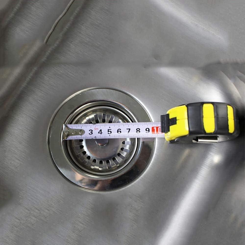 acero inoxidable, di/ámetro de 78 mm Tap/ón para fregadero de cocina Fitmore