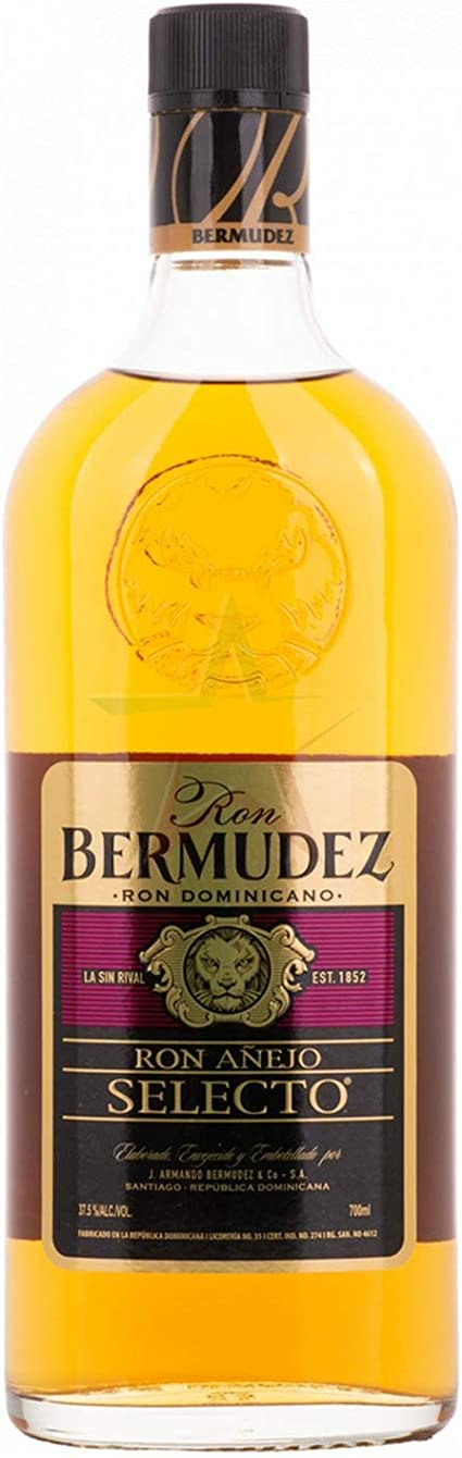 Bermudez Ron Añejo SELECTO Ron Dominicano 37,5% - 700 ml