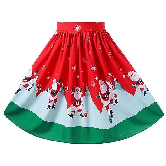 3454c262d Vectry Faldas Falda Flamenca Mujer Faldas Cortas Vaqueras Mujer ...