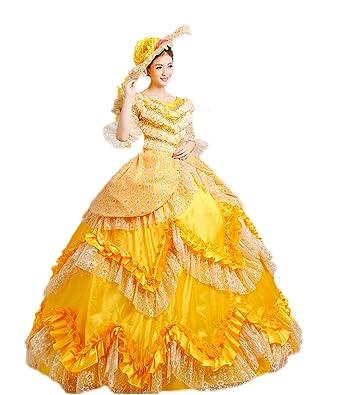 68bf2a47ff Zukzi Women s Prom Gothic Victorian Fancy Palace Masquerade Dresses