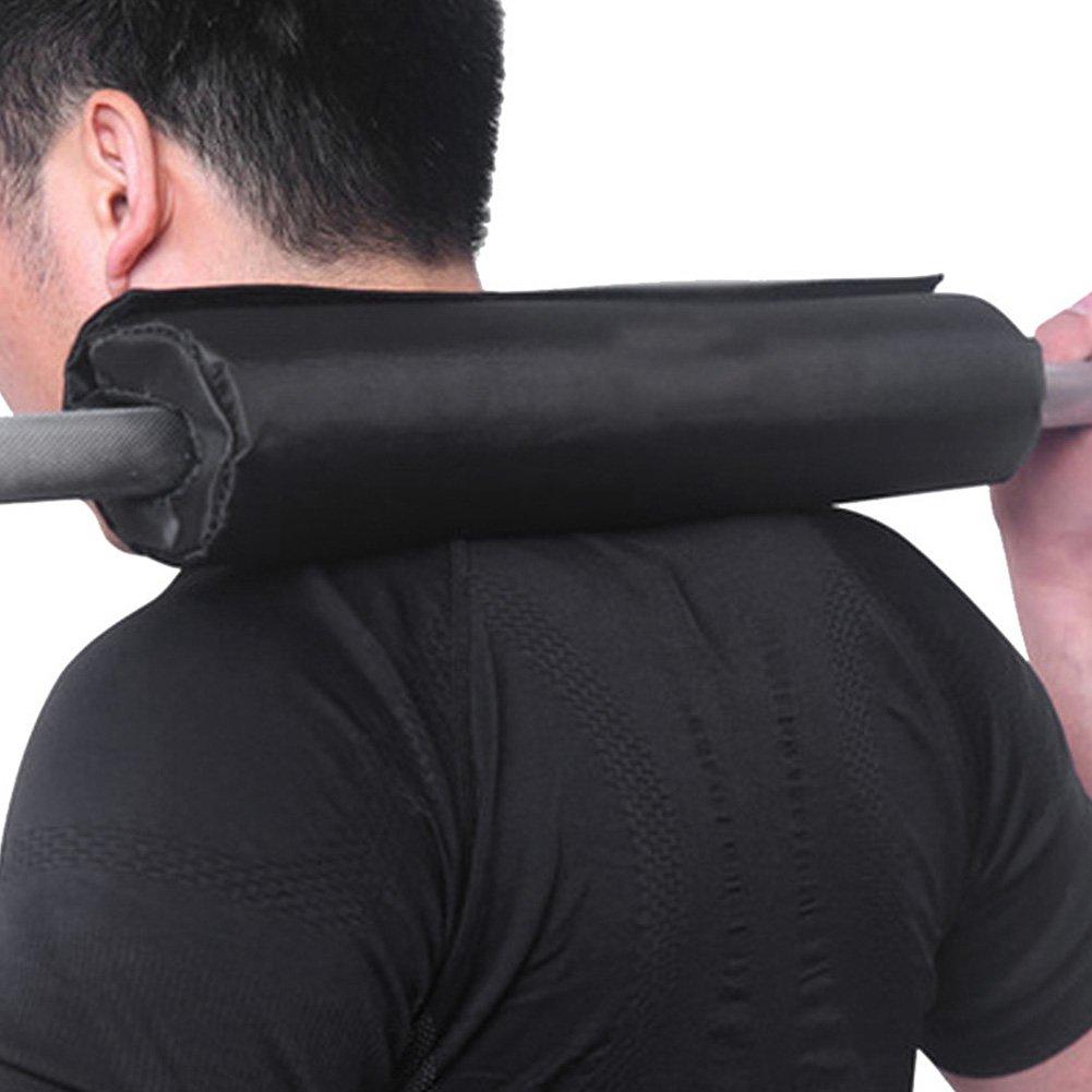 Barbell Pad Gel Supports, Squat Bar Levantamiento de Pesas Agarre Cuello Hombro Barbell Protector para Squats, Hip Thrusts, Levantamiento de Peso: ...
