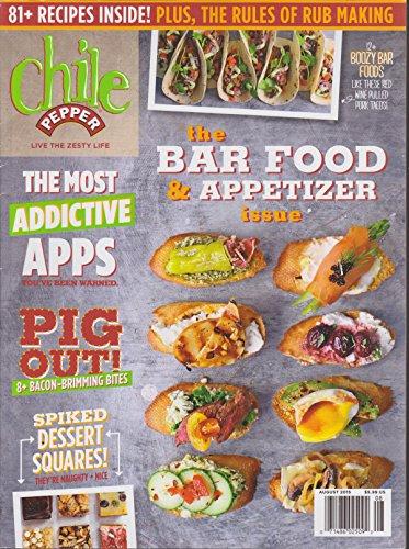 Chile Pepper Magazine August 2015