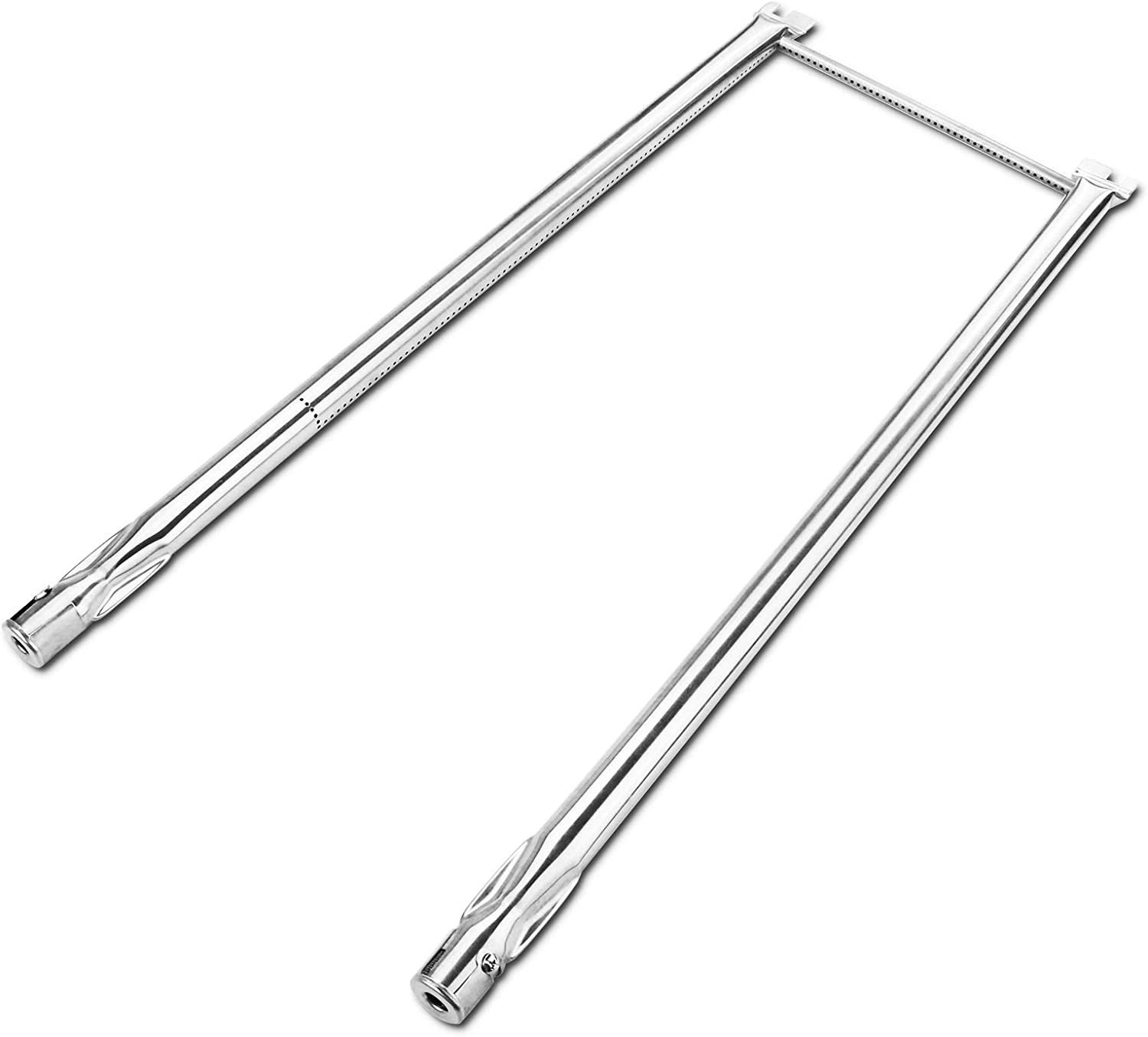 Utheer 7507 Grill Burner Tubes 27 Inch for Weber Spirit 210 Spirit E210 Spirit 200, Genesis Silver A, Spirit 500(with Side Mounted Control Panel)Grill Replacement Parts, Stainless Steel