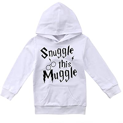 6237f6510 Annvivi Baby Boy Girl Letter Hoodie Tops Toddler Hooded Casual Hoodies With  Pocket