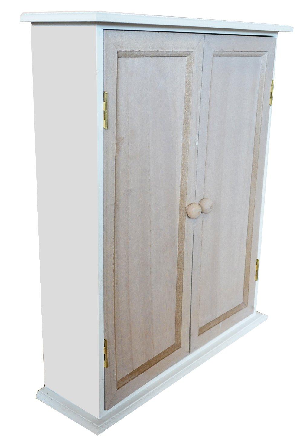 2 Farbe Kommode Schränke Holz Schrank Aufbewahrung Schränkchen Vintage Design