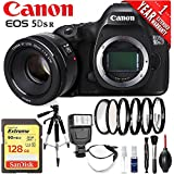 Canon EOS 5DSR DSLR Camera (Body Only) International Version (No Warranty) w/Canon 50mm EF Lens Portrait Starter Kit