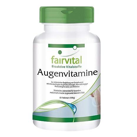 diseñado específicamente para los ojos - - vitaminas Eye - durante 2 meses 60 comprimidos -