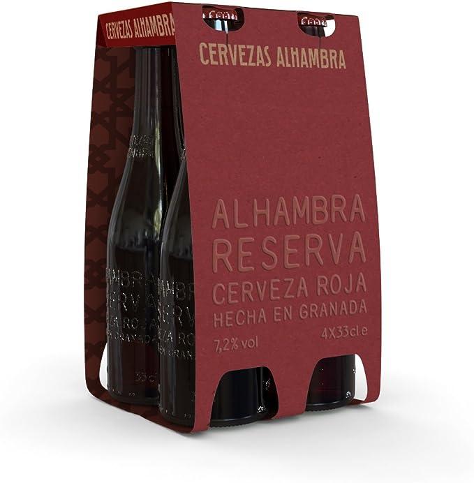 Alhambra Reserva Roja Cerveza Bock Lager, 7.2 % Volumen de Alcohol ...