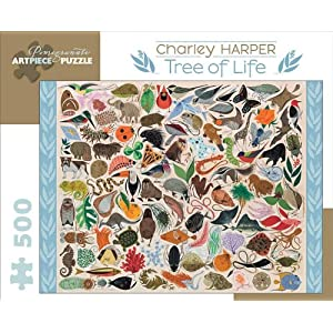 Charley Harper Tree Of Life 500 Piece Puzzle Inglese Copertina Rigida 31 Gen 2012