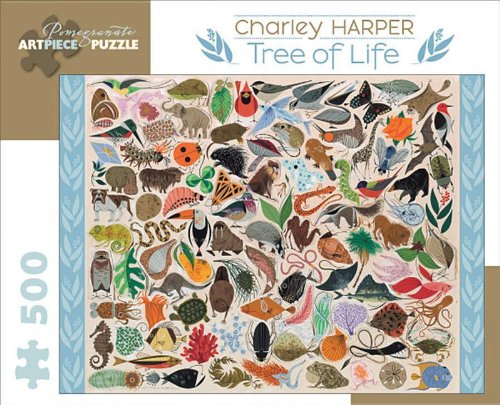 Books : Charley Harper - Tree of Life: 500 Piece Puzzle (Pomegranate Artpiece Puzzle)