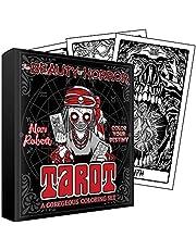 The Beauty of Horror: Color Your Destiny Tarot Deck