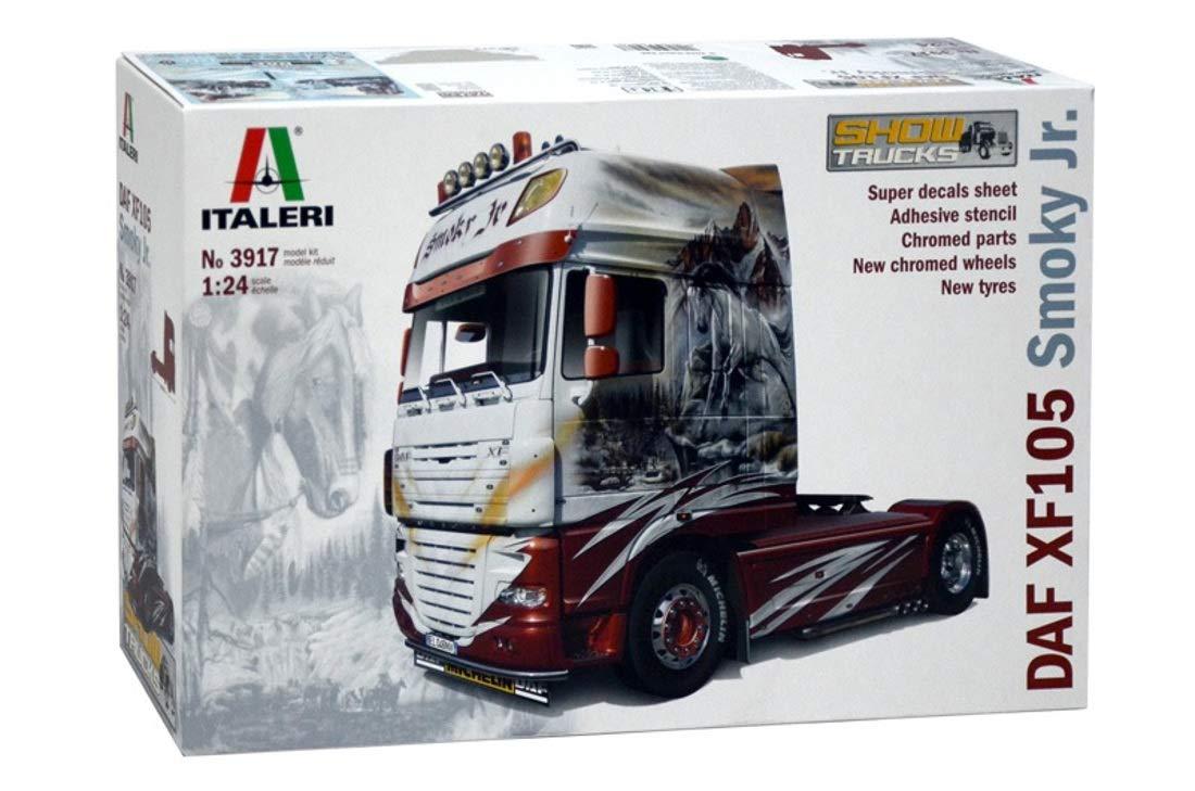 Italeri 39171: 24DAF XF105, Vehicles