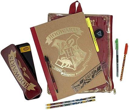 Harry Potter Bumper Stationery Wallet A4 Notebook Estuche para lápices: Amazon.es: Oficina y papelería