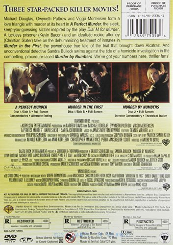 A Perfect Murder / Murder by Numbers / Murder in the First