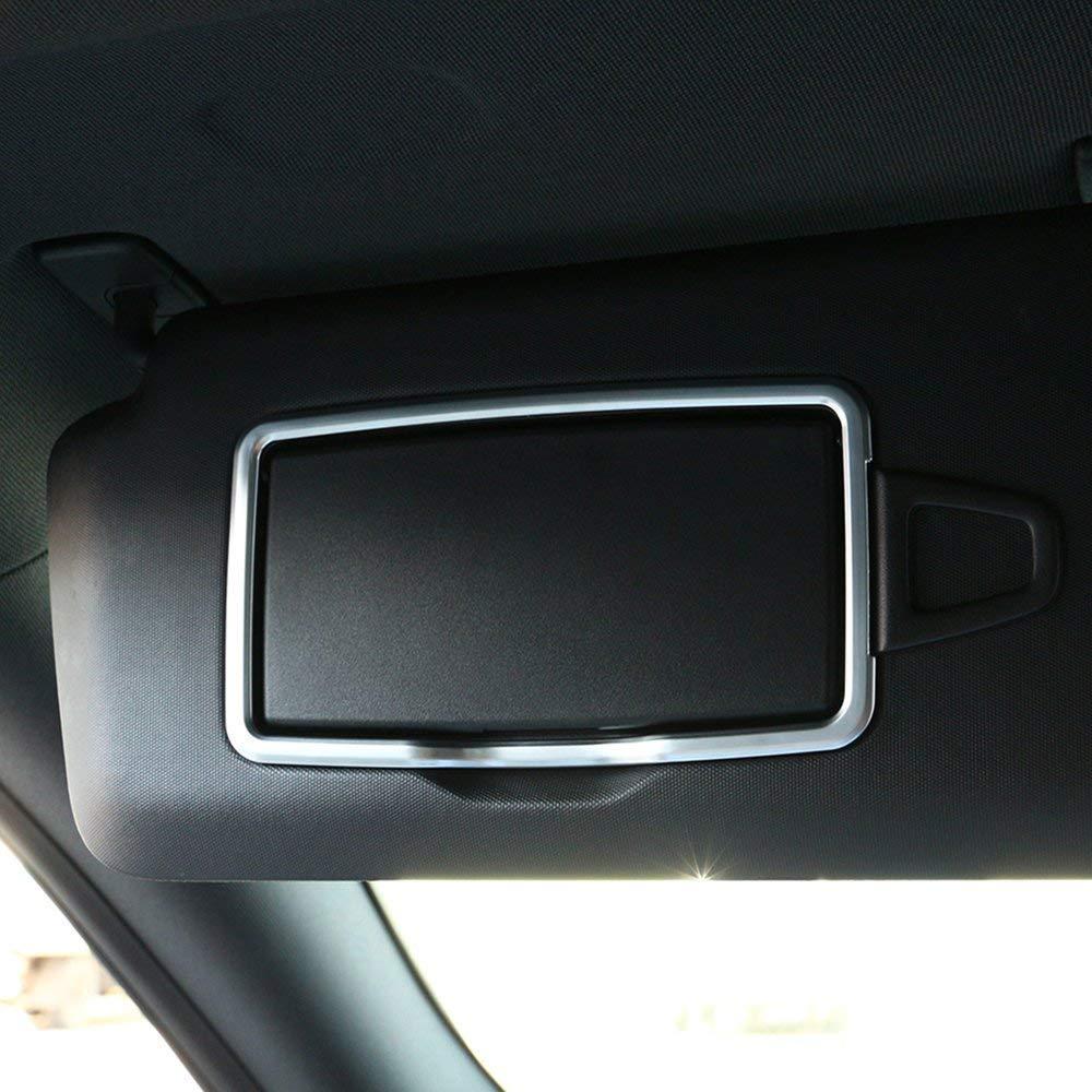 AUTO Pro for Mercedes-Benz Accessories A C CLA GLC GLE ML GLA W204 W205 X204 ABS Chrome car Interior Vanity Mirror Decoration