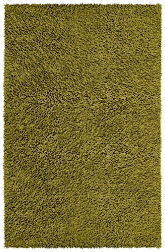 Shagadelic Chenille Twist Rug, 30-Inch by 50-Inch, (Moss Green Area Rug)