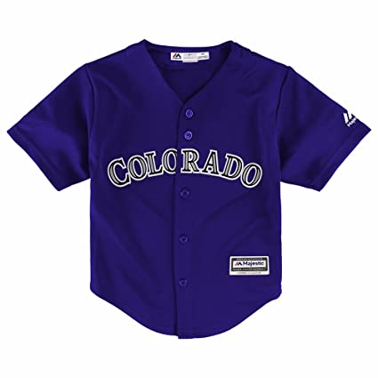 96094f891102 Amazon.com   Majestic Team Colorado Rockies MLB Purple Official ...