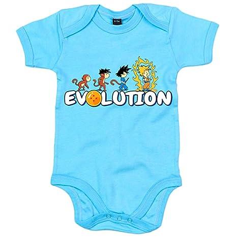 Body bebé Dragon Ball Bola De Dragón Evolution - Celeste, 6 ...