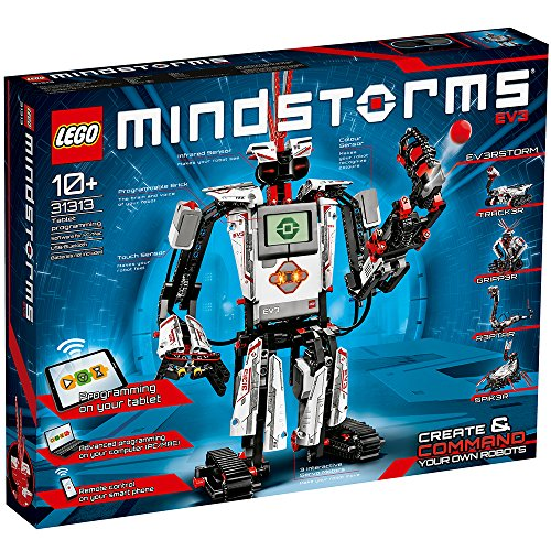 61NG4J2HypL - LEGO MINDSTORMS EV3 31313 Robot Kit with Remote Control for Kids, Educational STEM Toy for Programming and Learning How to Code (601 pieces)