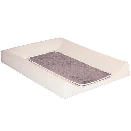 Babycalin Colchón cambiador Luxe color crudo + toalla Taupe