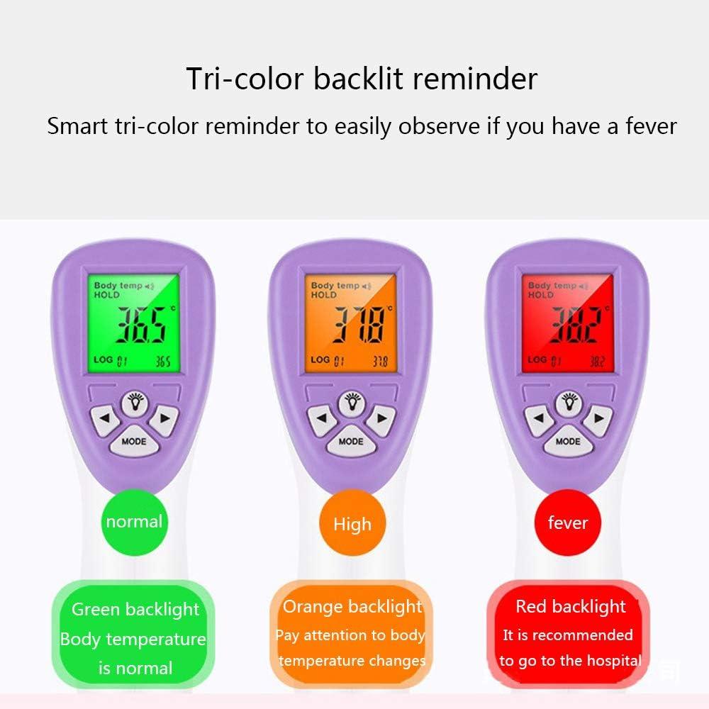 SMFYY Baby Erwachsene Nicht Kontakt Digital LCD Infrarot Medical K/örper Stirn-Thermometer Pistole Geeignet F/ür Zu Hause