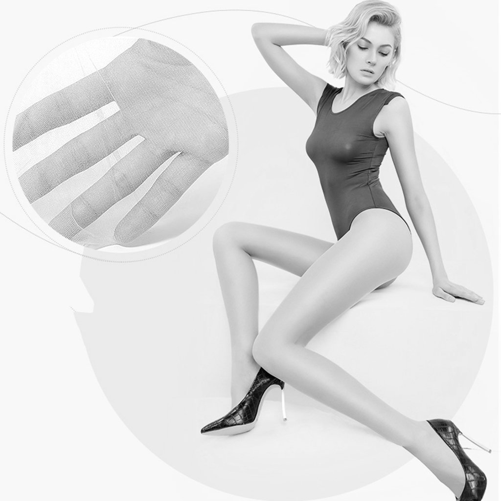 c74a39dd6a926 RenShiMinShop Socks stockings 5 loaded stockings 12D ultra-thin invisible  pantyhose spring and summer sexy thin bottoming stockings (Color : Gray, ...