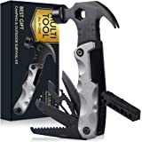 Hammer Multitool Camping Accessories Gifts for Men, Survival Gear Tool Stocking Stuffer, 13 in 1 Pocket Tool Set for…