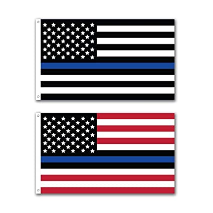 amazon com faylagee yx 2 pack thin blue line patriotic usa