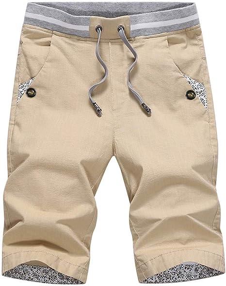 NGRDX&G Bermuda Pantalones Cortos De Verano Hombres Pantalones ...